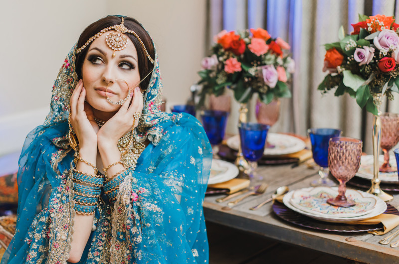 Image for Vibrant and Colorful Middle Eastern Wedding Inspiration