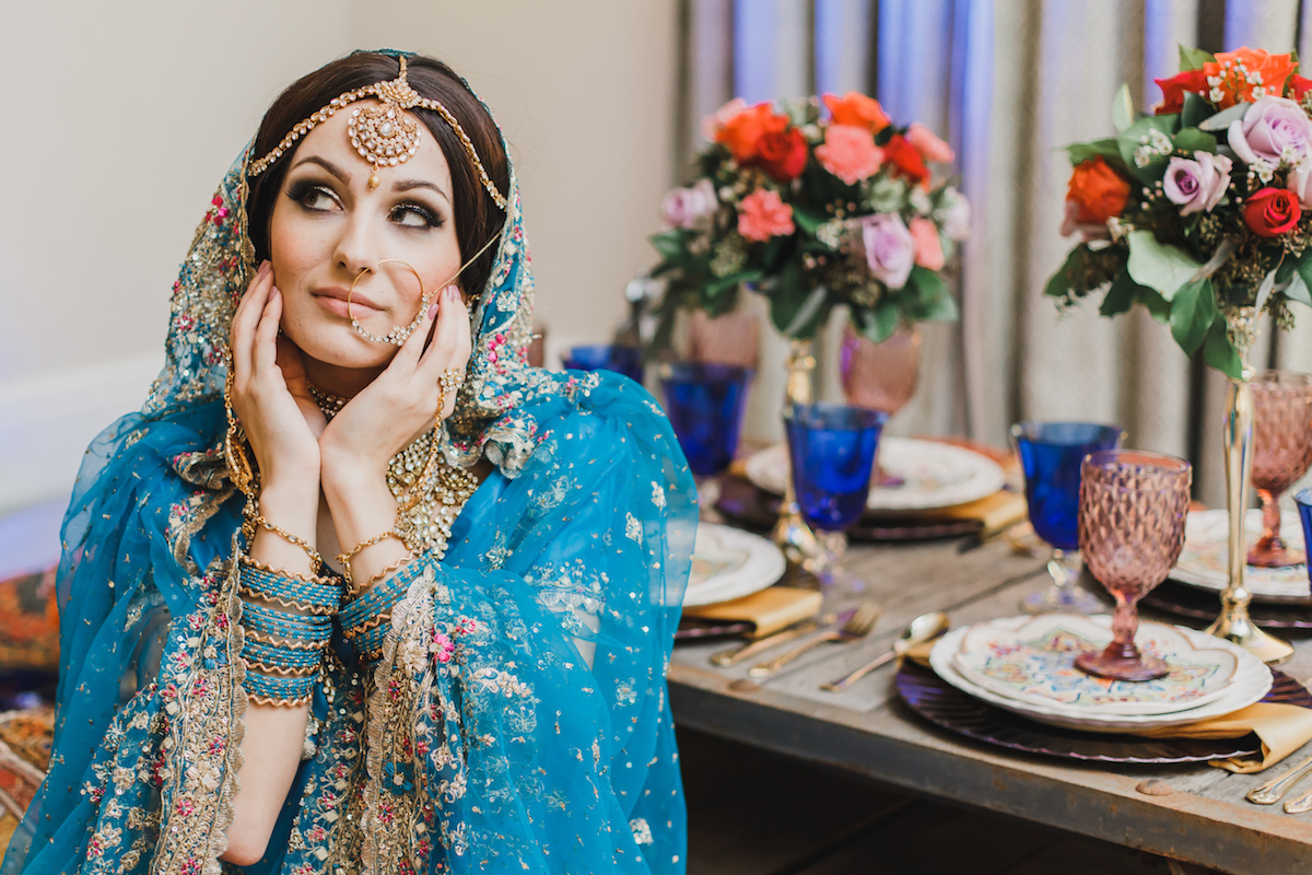 Vibrant And Colorful Middle Eastern Wedding Inspiration Love Inc