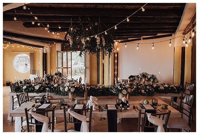 hanging-greenery-wedding-decor-lh-photography