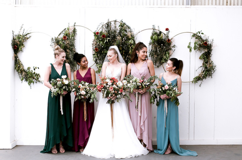 Image for Jewel-Toned Celestial Wedding Inspiration with Lush Florals