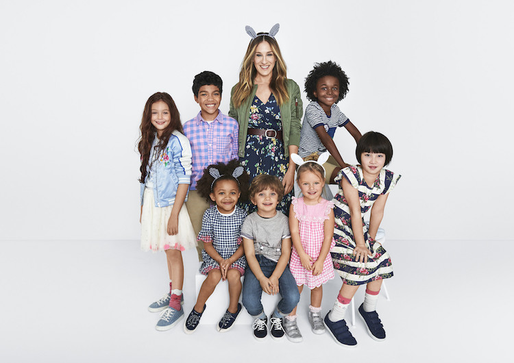 Sarah Jessica Parker's Launches Gap Kids Collection