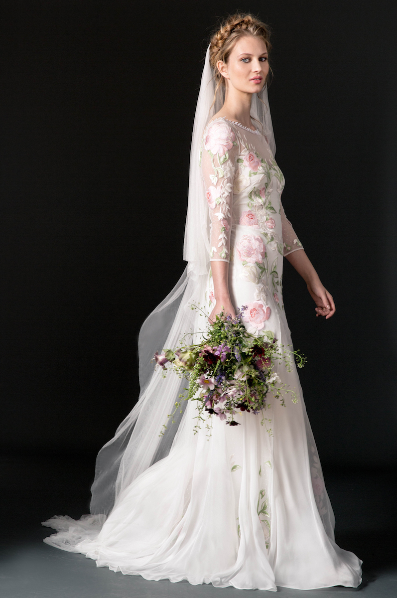 temperley-pink-floral-wedding-dress
