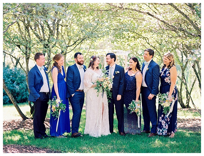 blue-mix-and-match-wedding-party-alexandra-knight-photography