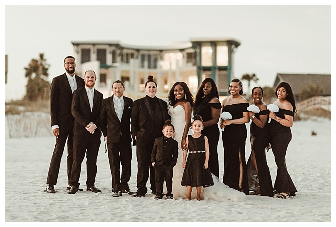 elegant-black-wedding-party-naba-zabih-photography