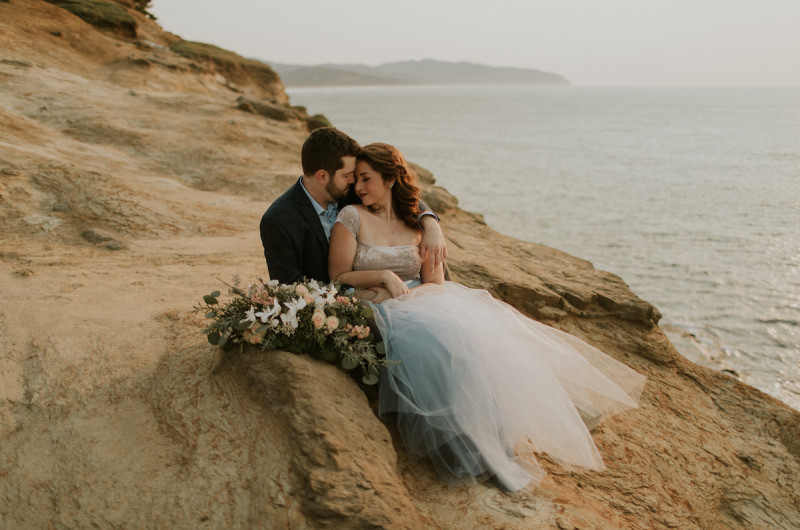 Image for Jaime and David's Dreamy Cape Kiwanda Engagement Session