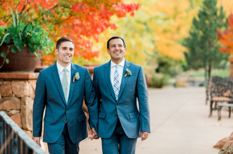 Image for Ryan and John's Gateway Canyons Resort Wedding