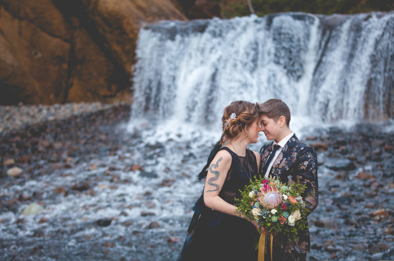 Image for A Moody Coastal Wedding Inspiration Shoot at Cannon Beach