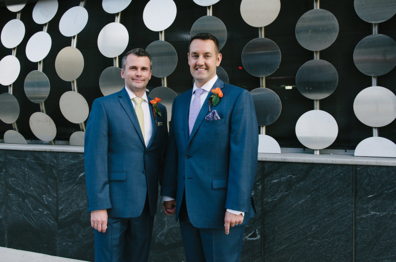 Image for Mark and Steven's Williamsburg Wedding Celebration at MyMoon