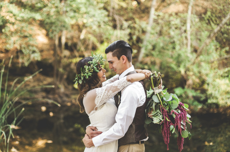 Image for Vanessa and Trent's Intimate Woodland Wedding