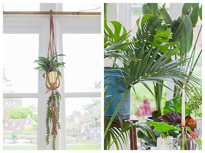 hanging-greenery-wedding-decor-amanda-karen-photography