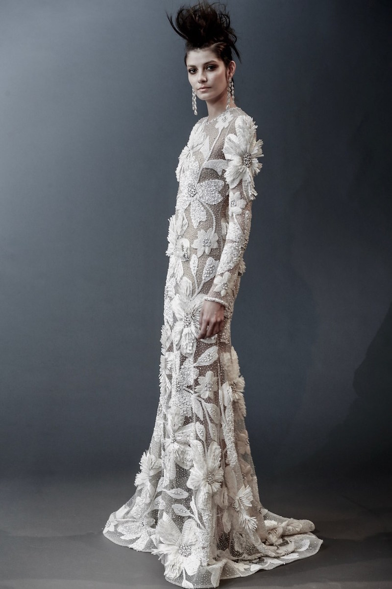 naeem-khan-oversized-florals-wedding-dress