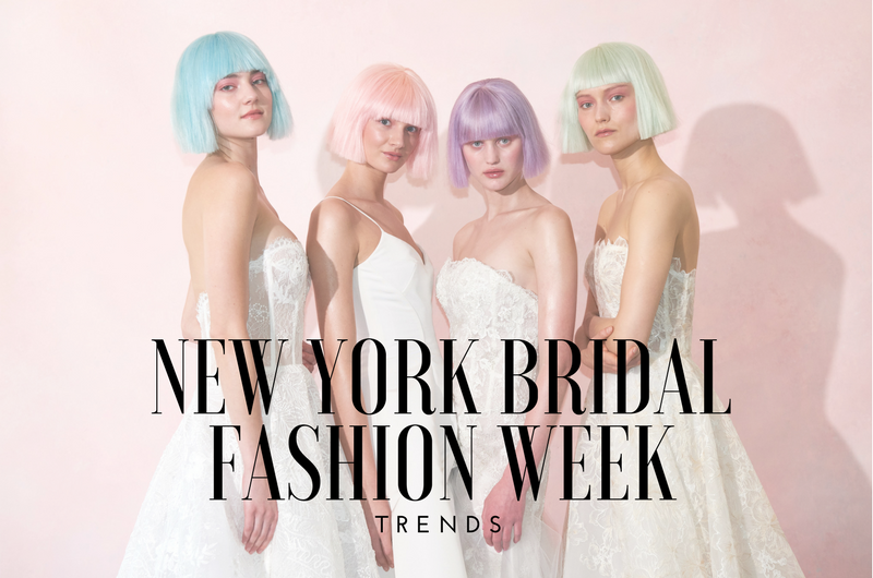 Image for The Trends We're Loving from Spring 2019 Bridal Fashion Week Runways