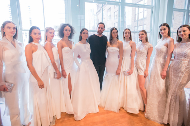Image for Beautiful Moments Captured During Bridal Fashion Week