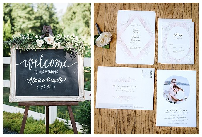 chalkboard-wedding-welcome-sign-angela-and-evan-photography