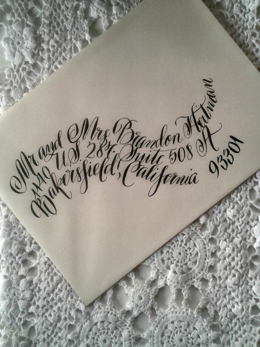 curved-calligraphy-wedding-invitation-envelope