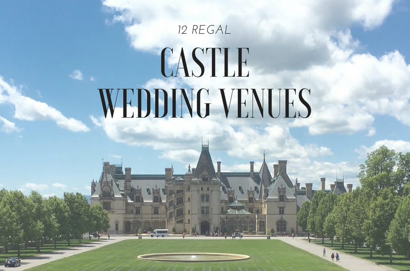 Image for 12 Regal Stateside Castle Venues for a Royal-Inspired Wedding