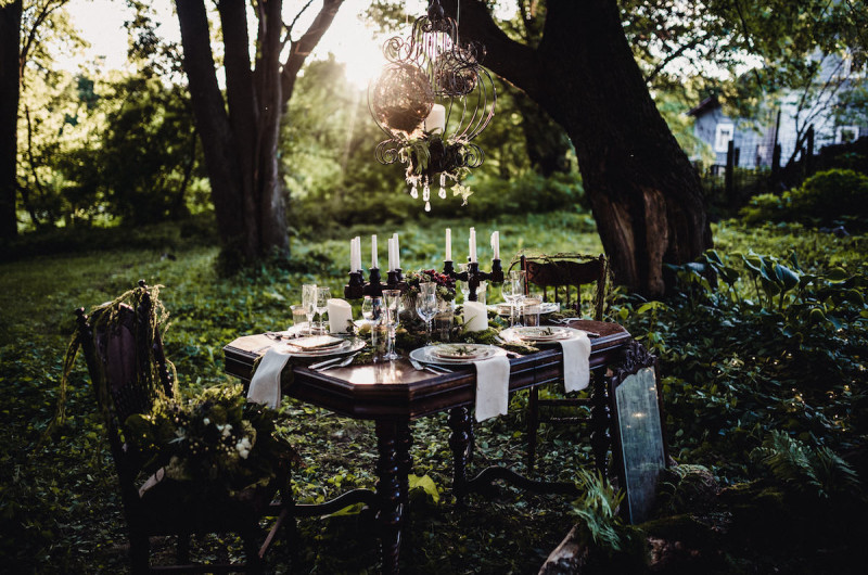 Image for An Enchanting Woodland Wedding Inspiration Shoot