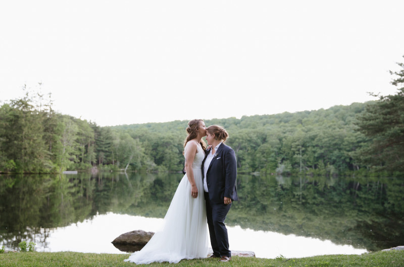 Image for Carrie and Rebecca's Whimsical Wedding at Cedar Lakes Estate