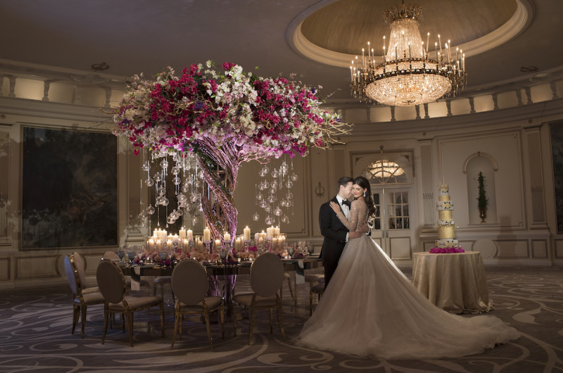 Image for A Luxe Royal Wedding Inspired Styled Shoot in New York City