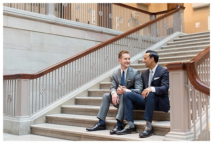 art institute of chicago gay engagement shoot