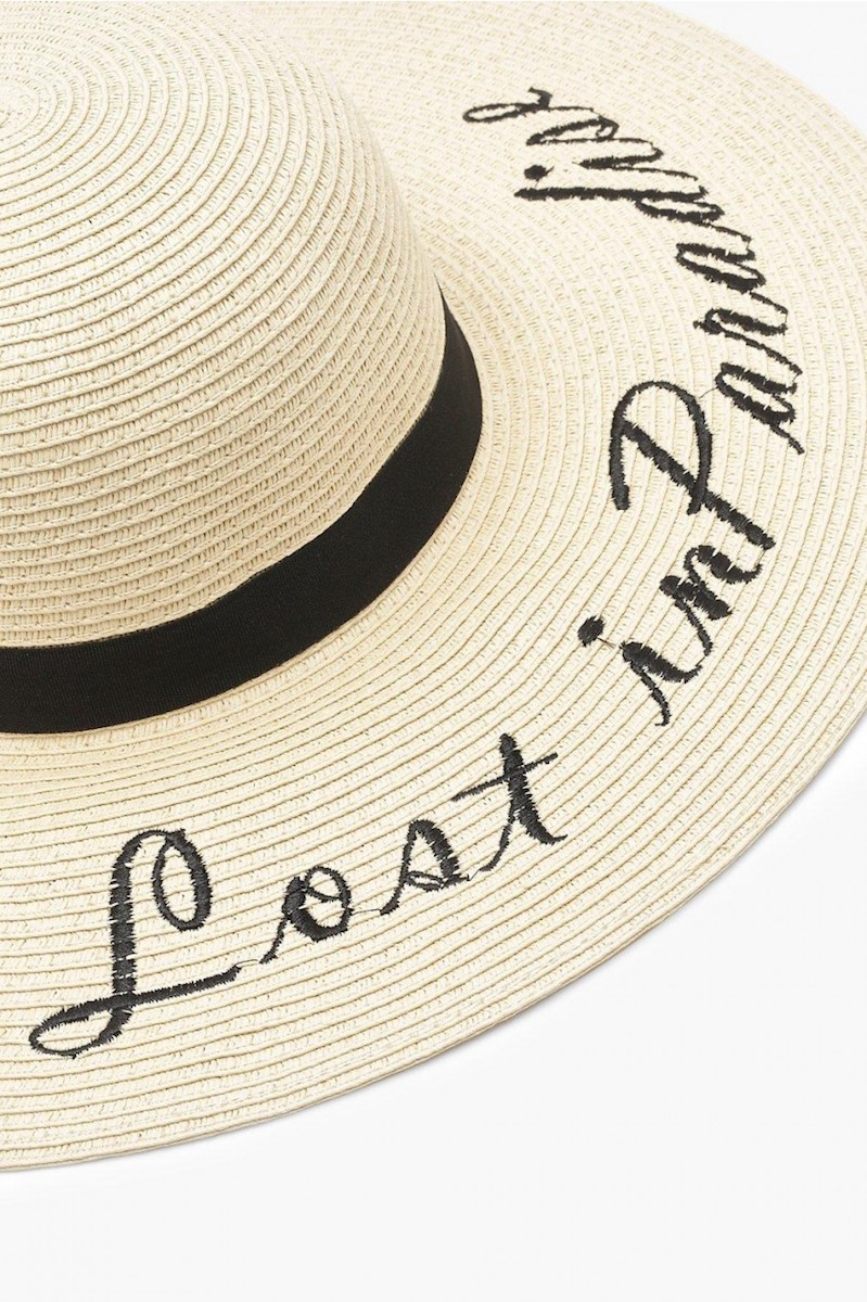 lost in paradise floppy hat