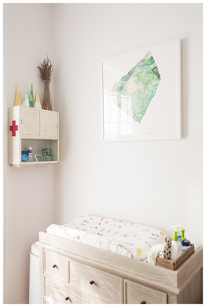 Changing Table Nursery Decor