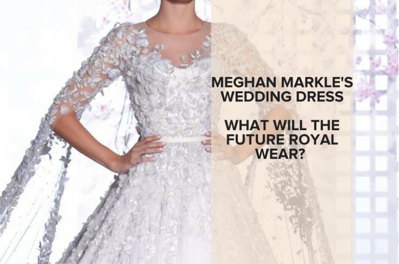 Image for Meghan Markle's Wedding Dress: What Will the Future Royal Wear?