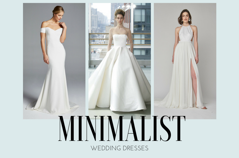 Image for Get the Royal Look: 12 Minimalist Wedding Dresses with Serious Style