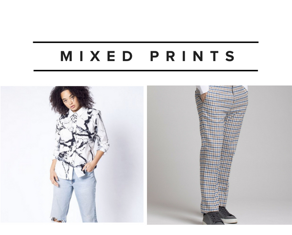 Mixed Prints Fashion Trend
