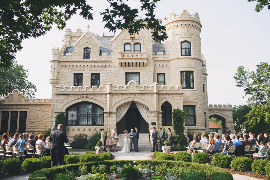 omaha nebraska castle wedding venue