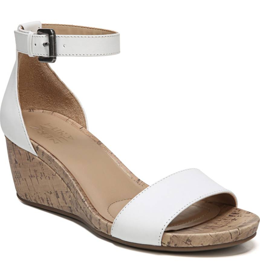 white-wide-fit-wedding-wedge