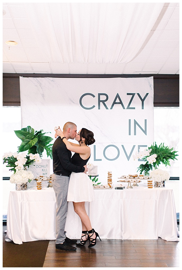 crazy in love wedding sign