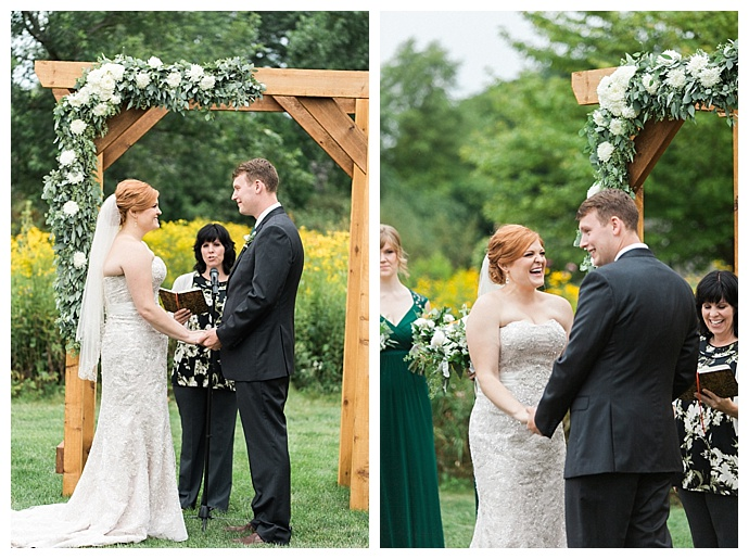 ceremony arch garland