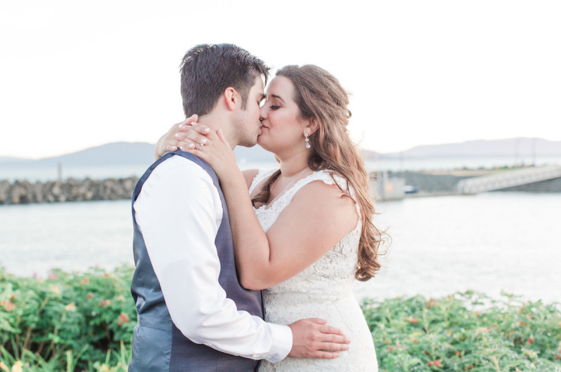 Image for Daniel and Jaclynn's Succulent-Filled Waterfront Wedding