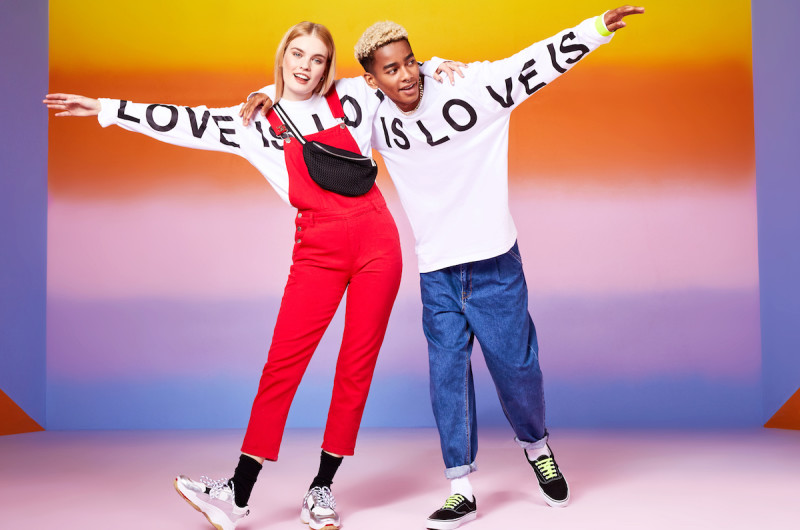 Image for Boohoo Launches Love is Love, a Gender Neutral Pride Collection