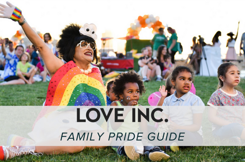 Image for Love Inc.'s Family Pride Guide: Family-Friendly Pride Events to Celebrate with Your Littles