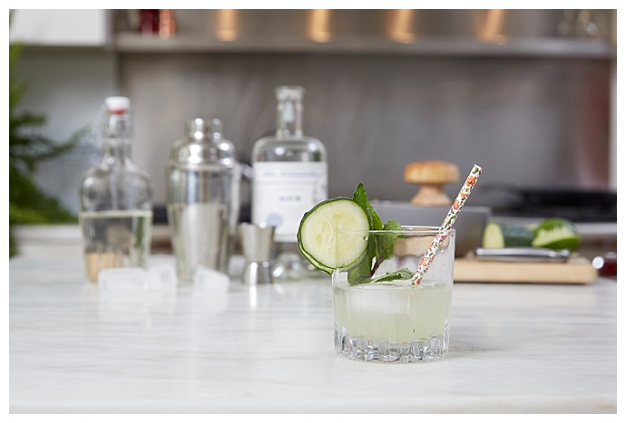 Gin Cucumber Cocktail