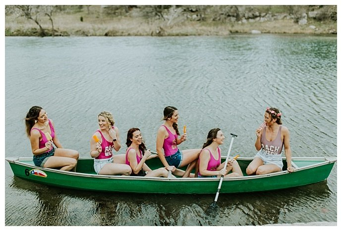 lakeside bachelorette party