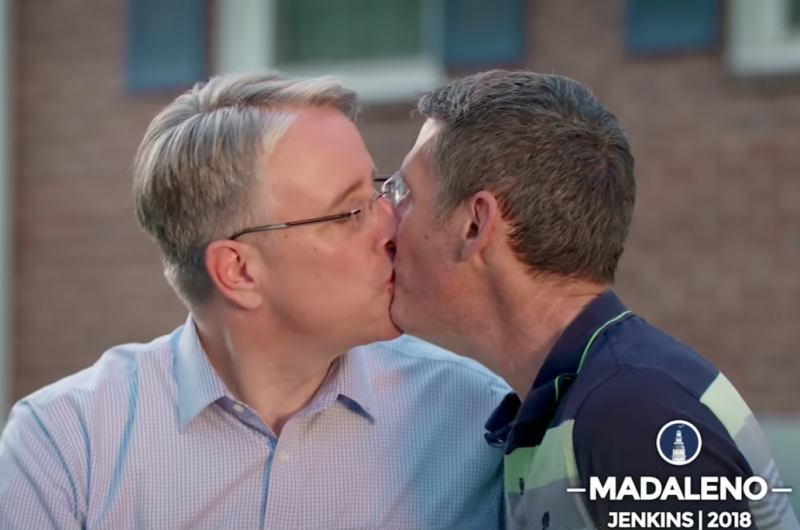 Image for Maryland Gubernatorial Candidate Airs Campaign Ad Featuring Same-Sex Kiss