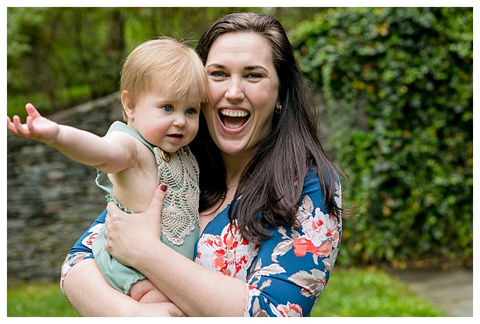 mommy-and-daughter-first-birthday-photo