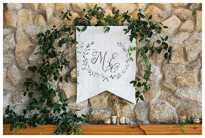 personalized head table banner