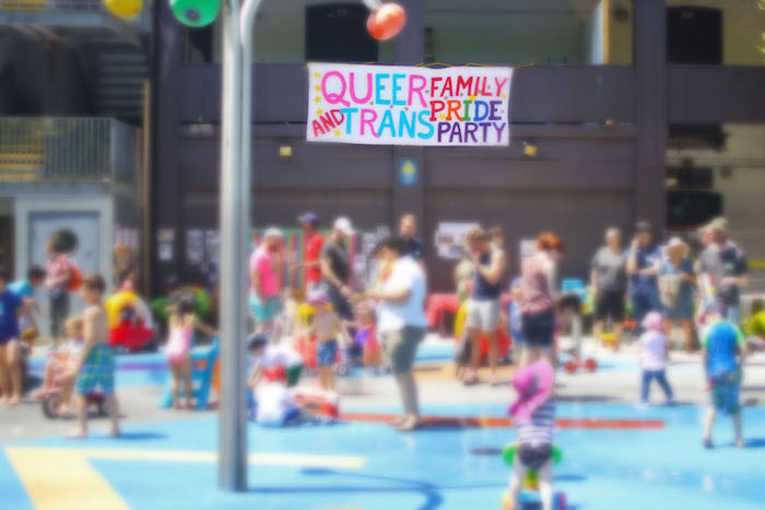 Queer and Trans Family Toronto Pride Event