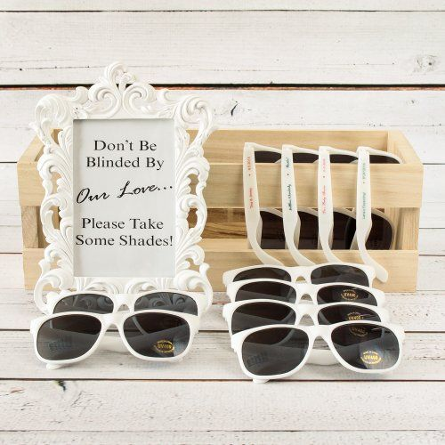 summer-outdoor-wedding-ceremony-sunglasses-for-guests