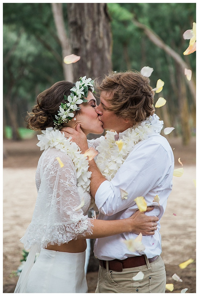 bohemian hawaiian elopement