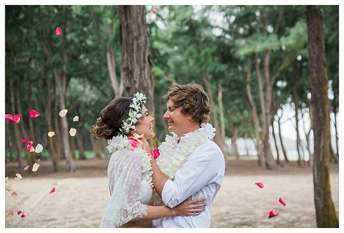 bohemian hawaii elopement