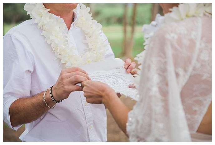hawaiian wedding ceremony