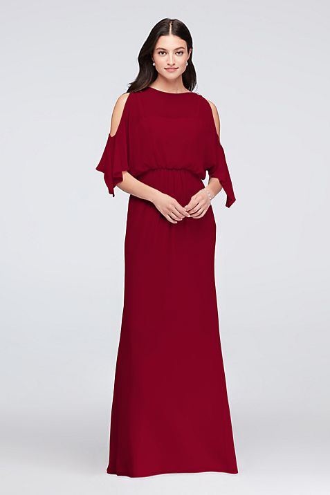 cold-shoulder-bridesmaid-dress-that-covers-arms