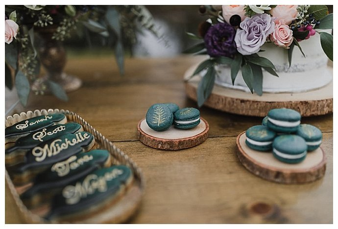 cookie wedding place cards