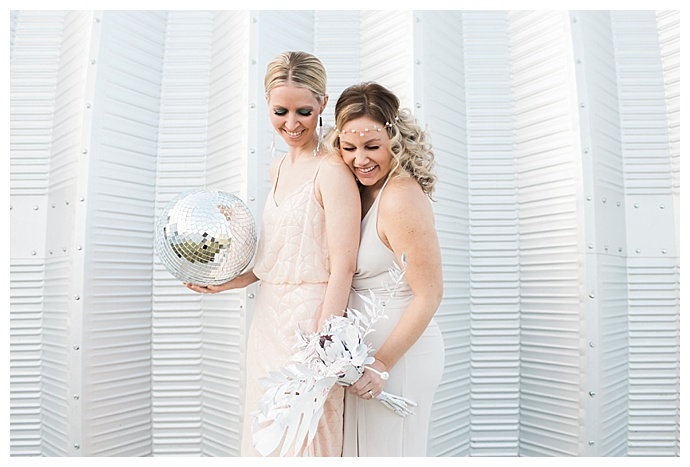 disco wedding inspiration