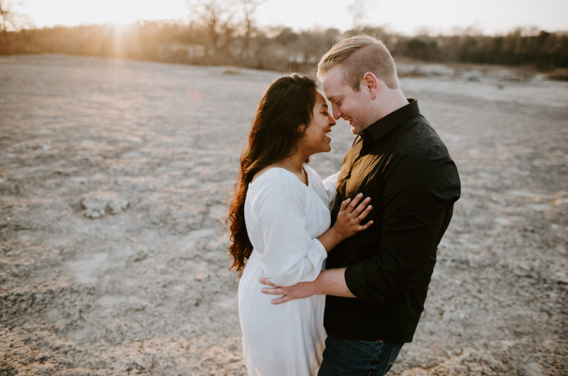 Image for Divina and Zach's McKinney Falls State Park Engagement Shoot